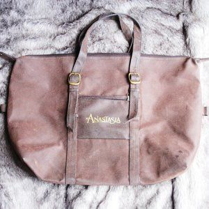 Anastasia Beverly Hills large leather tote bag